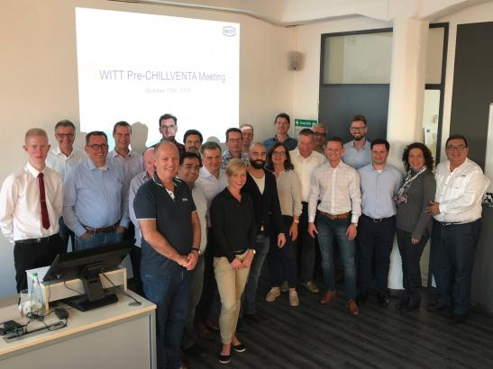 WITT Pre-Chillventa Meeting Wilkon Trainingscenter